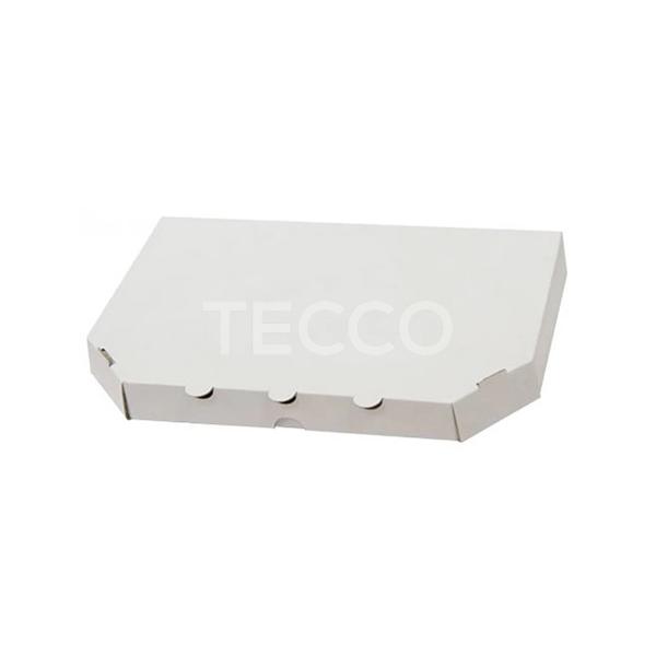 Коробка для половинки пиццы 160х320х30мм Tecco 030422