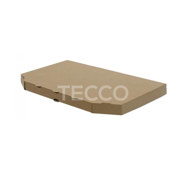 Коробка для половинки пиццы 160х320х30мм Tecco 030423
