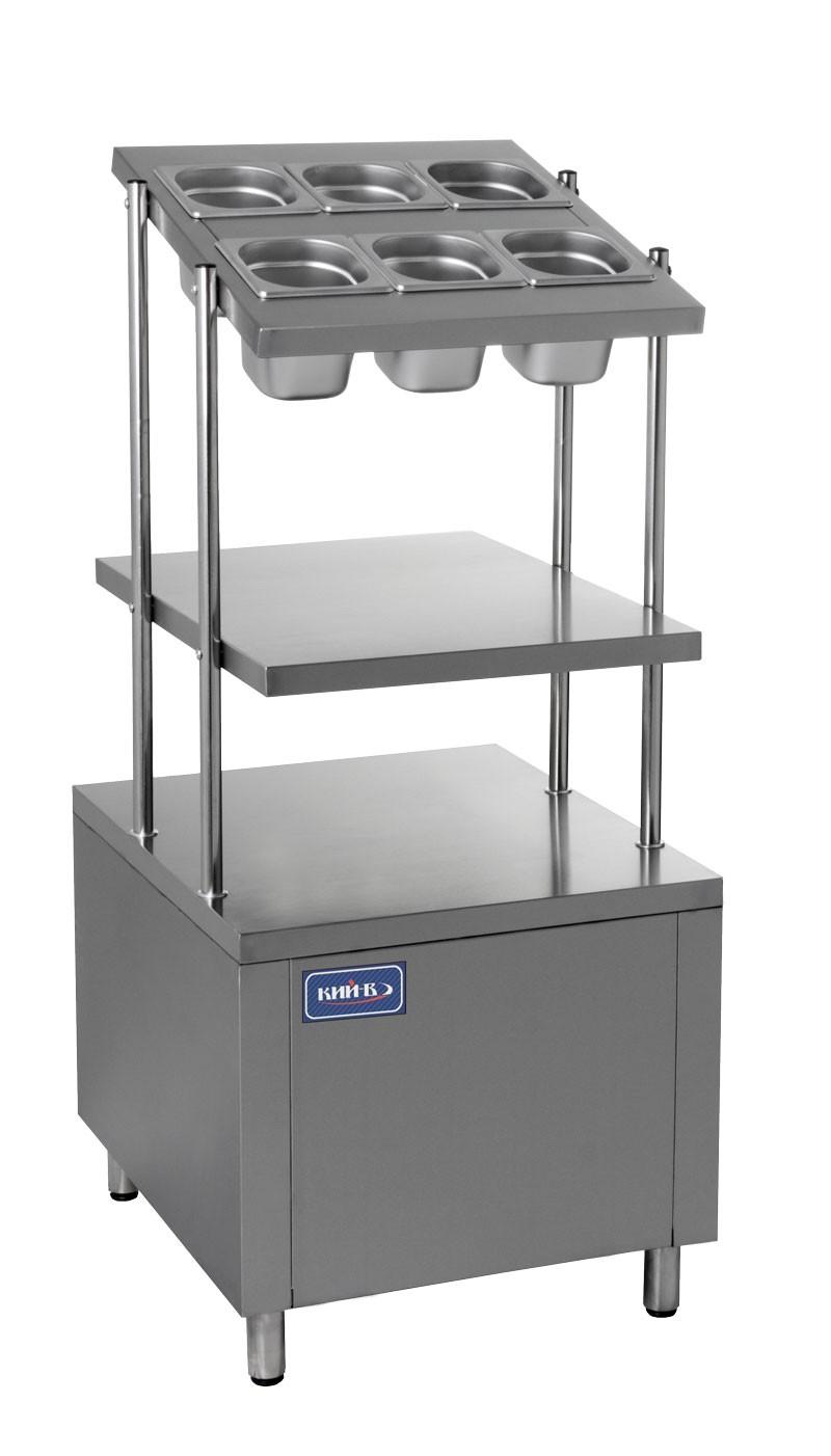 Прилавок для столовых приборов КИЙ-В ПСП-600 Классик